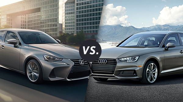 Comparison: 2020 Lexus IS 350 Vs. 2020 Audi A4